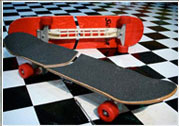 свёрвборд (swerver ultimate carving streetboard)